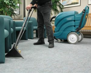 Dry Carpet Cleaning Method