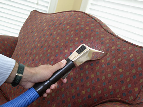 Upholstery Cleaning Closeup